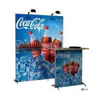 Aluminum-alloy indoor market promotion booth