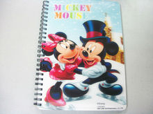 3d notebook/stationery in dubai/3d lenticular spiral notebooks