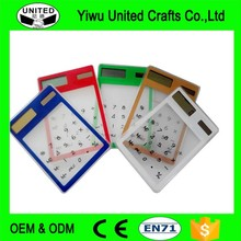 Chinese Factory wholesale Transparent root square calculator