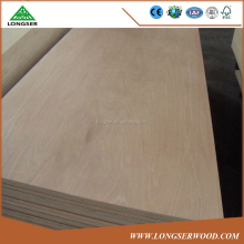 Okoume/Bintangor/Sapele/Keuring/Poplar/Pencil Cedar/Pine/Teak face Commercial Plywood for furniture usage