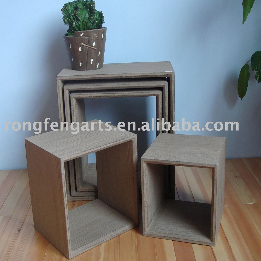 holz cube regal speicherhalter und st nder produkt id. Black Bedroom Furniture Sets. Home Design Ideas