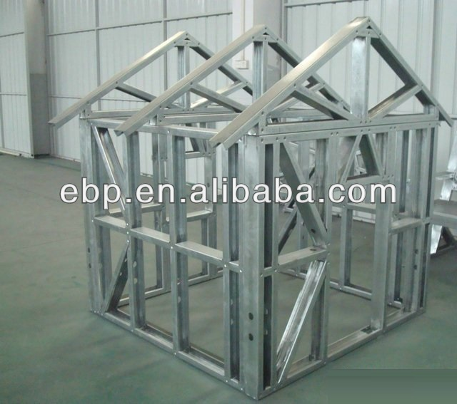 home wall space saving/light gauge steel framing/prefabricated steel building in shenzhen factory