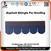Hexagonal/Square/Diamond/Fishscale/3 Tab Type Fiberglass asphalt shingle roof tile