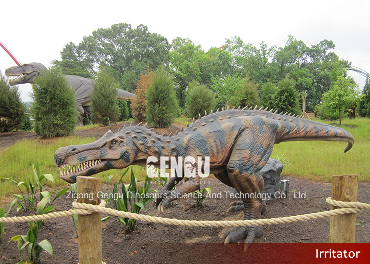 Outdoor Park Handmade Vivid Animated Dinosaur Model
