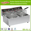 Industrial Double Tank Electric Fryer BN-6L-2