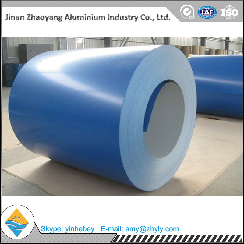 1070-H24 color coating Alu-Coil 0.7mmX1100mm