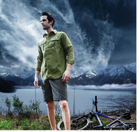 New outdoort cheap wholesale green soft dual-purpose camping quick-drying jackets coats pant