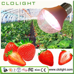 9W Waterproof LED Grow Plant Light, Red Blue Grow Lamp for Plant Vegetable Flower