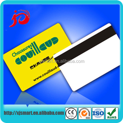 Pvc Smart or Metal Business Cards with QR number Magnetic stripe and Signature Panel