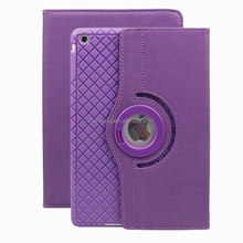 Intelligent Dormancy 360 Degree Rotation Pu Leather Smart Case for Ipad Air