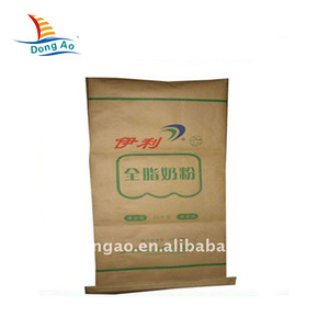 Made in China superior quality kraft paper laminated pp woven bag
