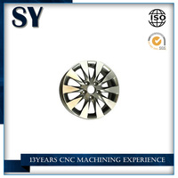 Supply of high quality OEM cnc machining truck auto wheel car parts