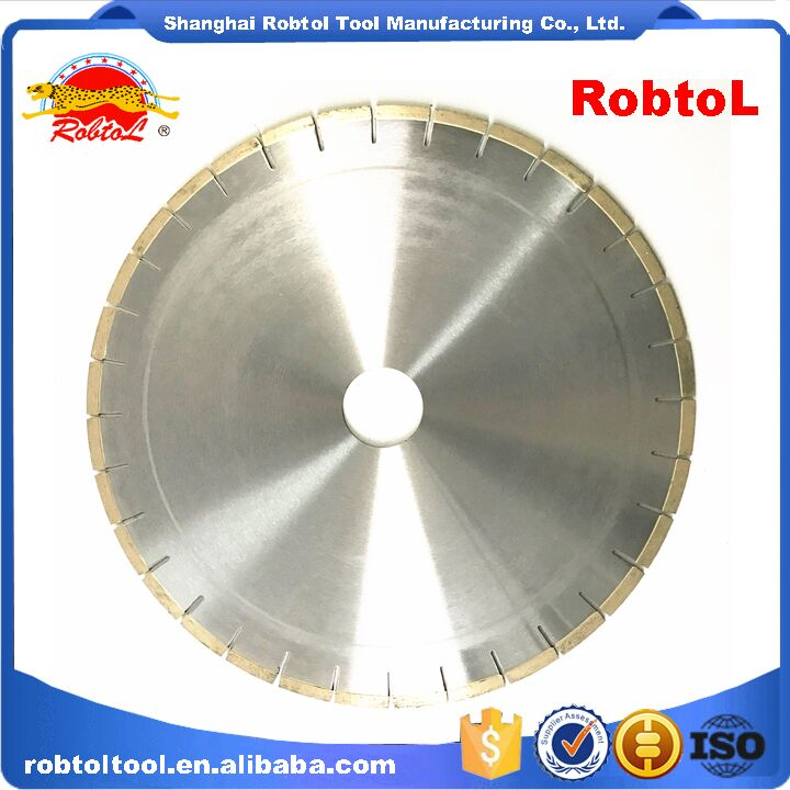 "14"" 350mm Marble Diamond Bridge Saw Blade Circular Disc Cutting Segmented"