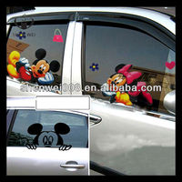 window static cling window film cartoon car window stickers