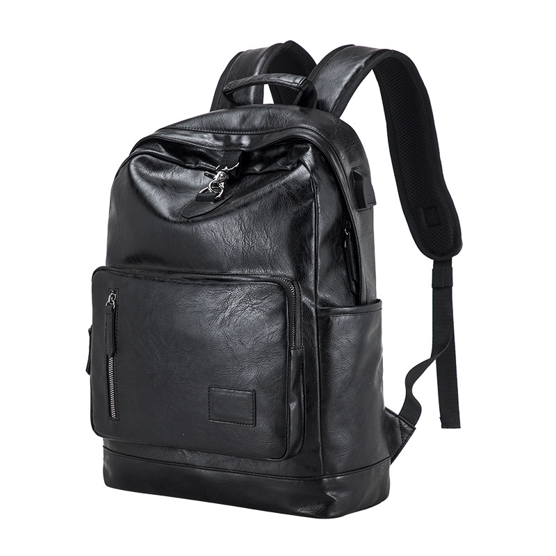 Original <strong>manufacture</strong> customized smart usb laptop backpack men outdoor sports backpack leather
