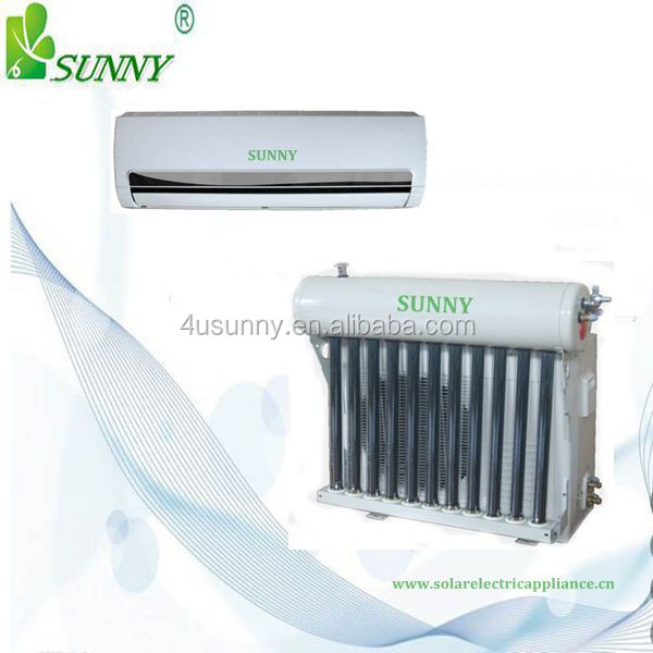 Lower price split wall mounted hybrid solar air conditioner ,solar AC