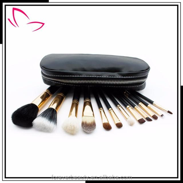 Chinese cosmetics 12 piece makeup brush set custom logo makeup brushes