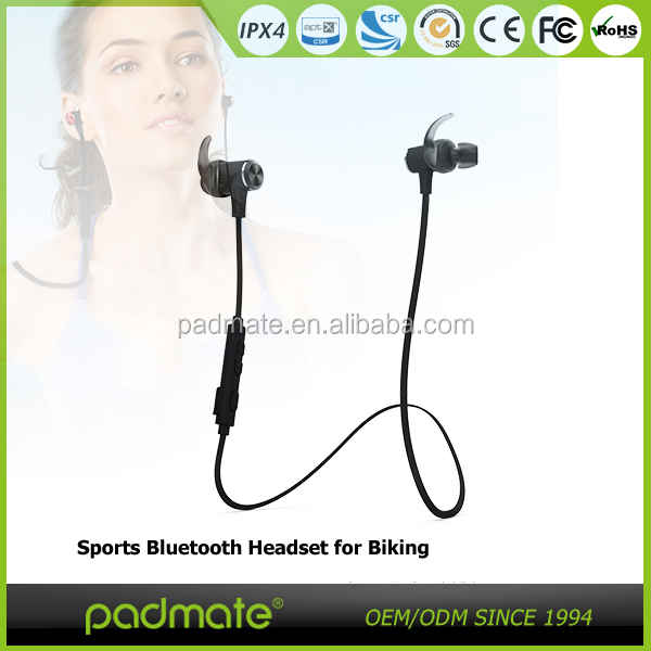 new product popular sports Bluetooth wireless earphone for phone