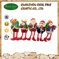 custom resin cheap quality Christmas ornaments wholesale
