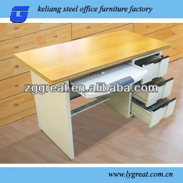 Shunde make steel frame office desk