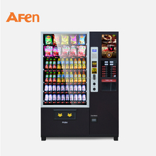 AFEN european instant cup noodle hot cold coffee vending machine with coin