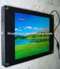 Wall mounting TFT media player