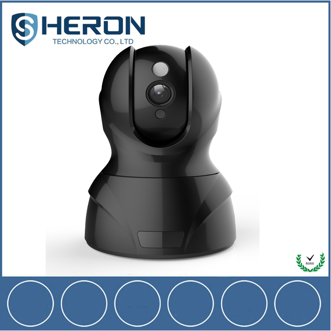 HD 1080P Wireless Cloud Infrared Remote Rotate Pan Tilt Control IP Camera 32G SD Card Recording and Playback Security Camera