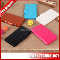 luxury phone leather case for acer liquid z2 with factory sale directly
