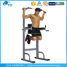 Crystal SJ-500 Cheap home exercise Gym fitness Equipment power tower/standing station/pull up bar