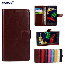 Luxury Flip PU Leather Wallet Mobile phone Cover Case For Lenovo P70 with Card Holder