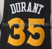 New Golden State Kevin Durant #35 Black Stitched National Basketball Jersey