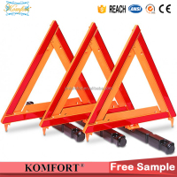 Customized logo dot safety car traffic sign warning triangle