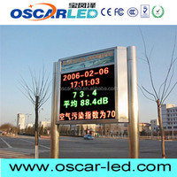 ali led car window message sign for shopping mall advertising
