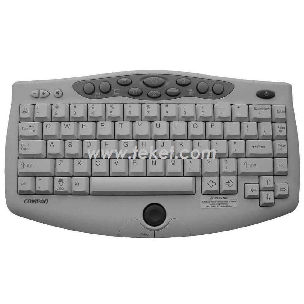 wireless keyboard with rubber trackball mouse Compa q Infrared multimedia goods in stock customized receiver IR USB COM PS2