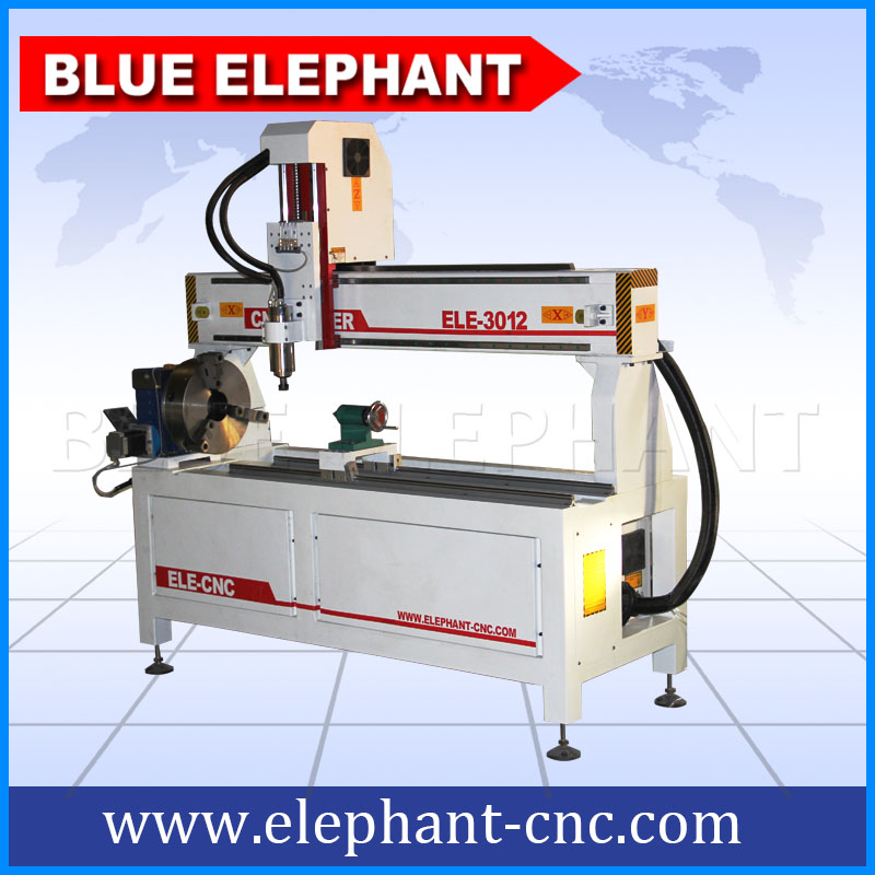 Easy Science Working Models cnc router with Rotary device machine
