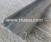 Galvanized C-Channel Metal Stud Profile