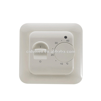 Cheap price fire-retardant housing manual switch and knob programmable timer thermostat