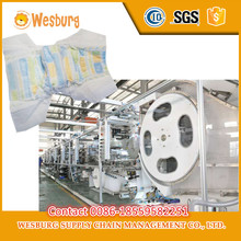 Brand new diaper machine baby diaper production line