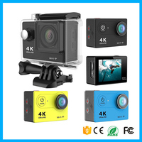 High definition 4K 24fps wifi action camera with remote control