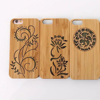 Mobile Phone Accessories Genuine Wood Grain