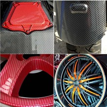 Water Transfer Printing Carbon fiber dash kit Hydro Graphics Film Transparent Film With different basecoat WIDTH100CM