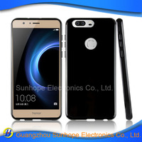glossy design clear tpu cell phone case for Huawei honor 8 cover