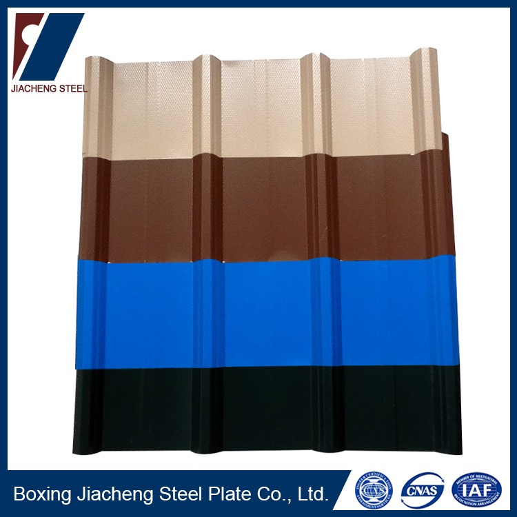 hot dipped zinc galvanized corrugated steel flat roof sheet