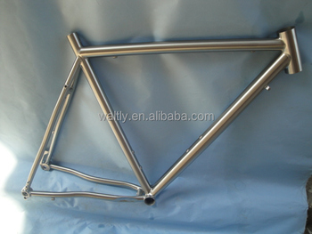 2015 fashion titanium road bike frame for free style