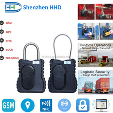 best metal body gps container e lock with gsm tracking