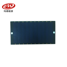 Sunpower Maxeon Cell frosted PET 93*4.15*2.5mm 5.5V 0.5W small size solar panel