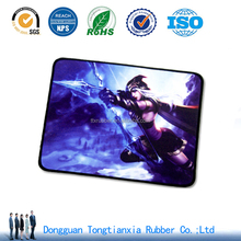2017 High Quality rubber Mouse pad with box