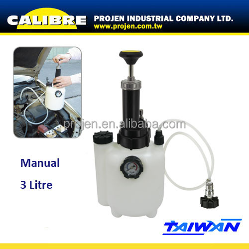 CALIBRE 3 Litre manual brake fluid bleeder bottle 3L Brake Fluid Bleeder