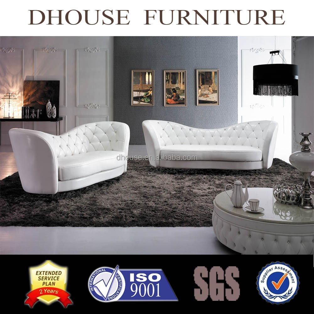 European Style New Classic Leather sofa set livingroom furniture AL172