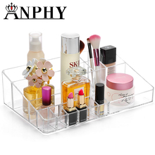 ANPHY C113 Grids Perfume Storage Nail Polish Lipstick Cosmetic Tray ,Plastic Cosmetic Tray